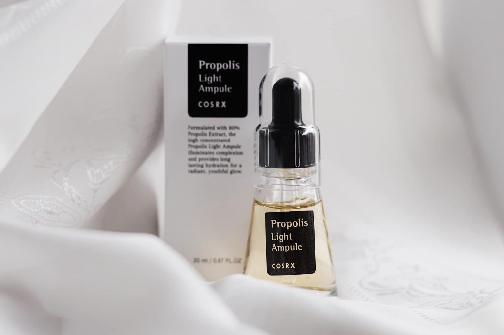 Propolis for Acne Prone Skin - Cosrx Propolis Light Ampoule